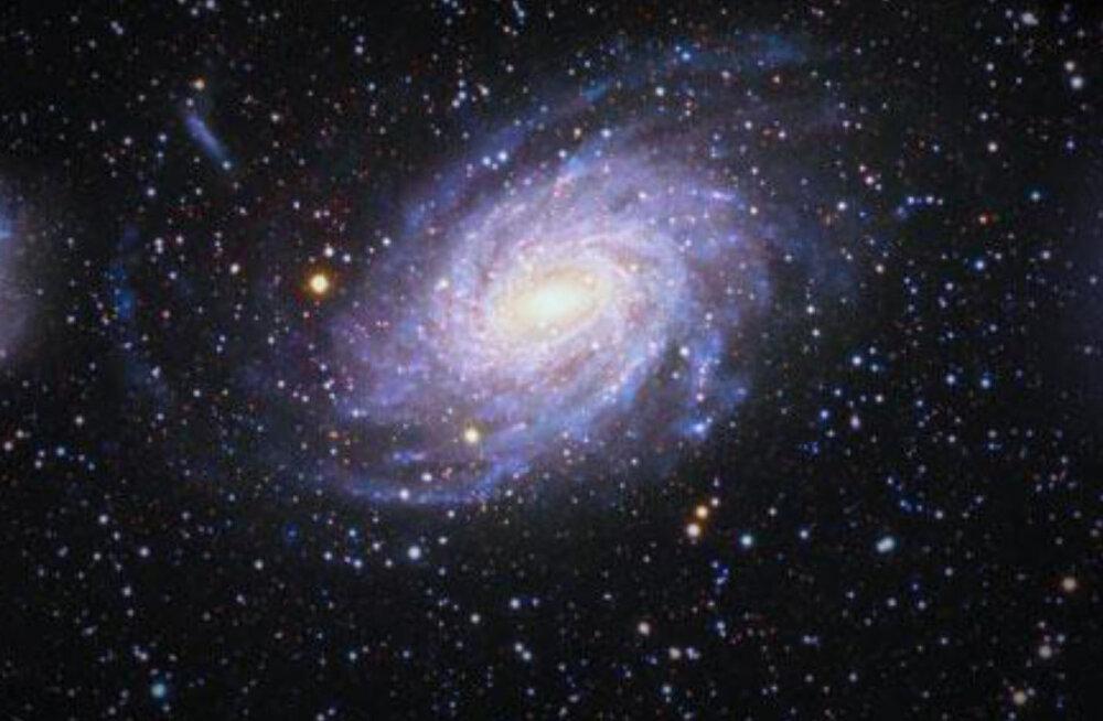 Astronoomid avastasid meie kodugalaktika senitundmata kaaslase