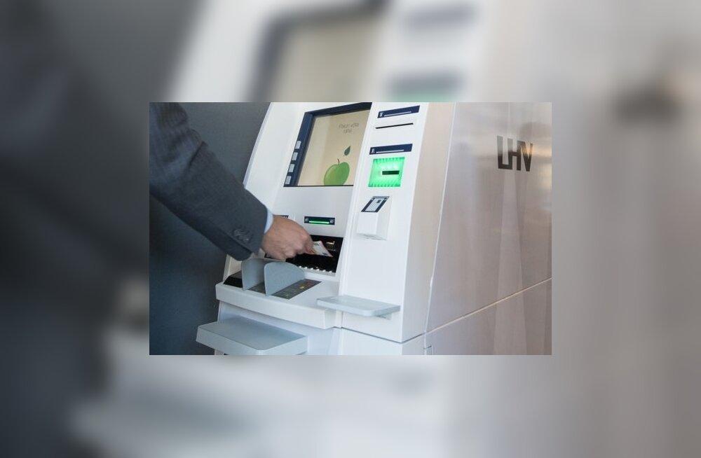 LHV paigaldas üle Eesti viis uut sularahaautomaati