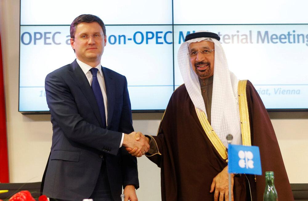 Venemaa ja teised naftatootjad vähendavad nafta tootmist