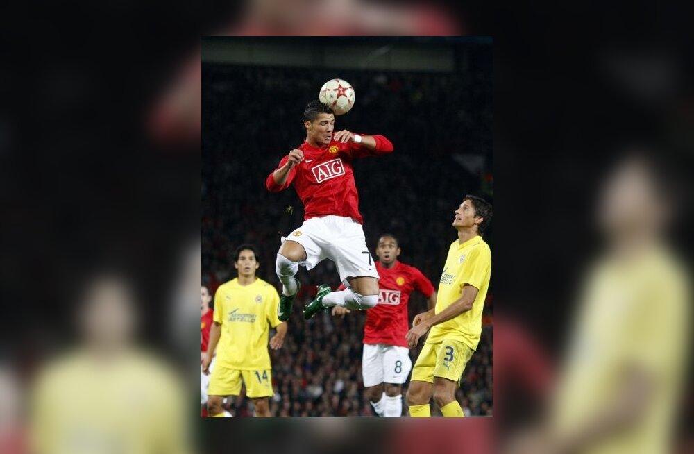 Cristiano Ronaldo mängus Villarrealiga