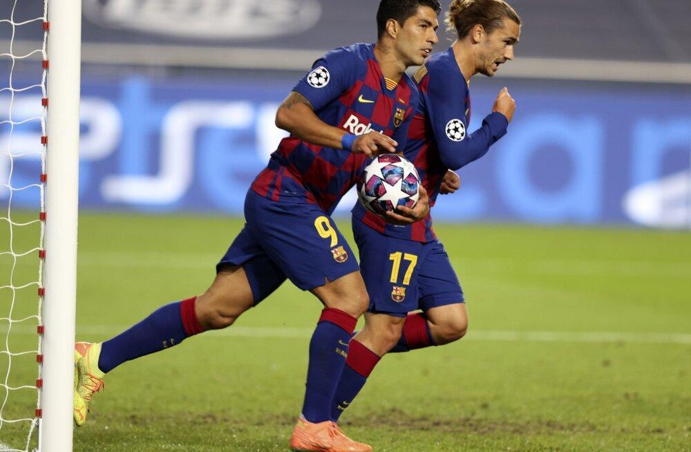 Luis Suarez ja Antoine Griezmann