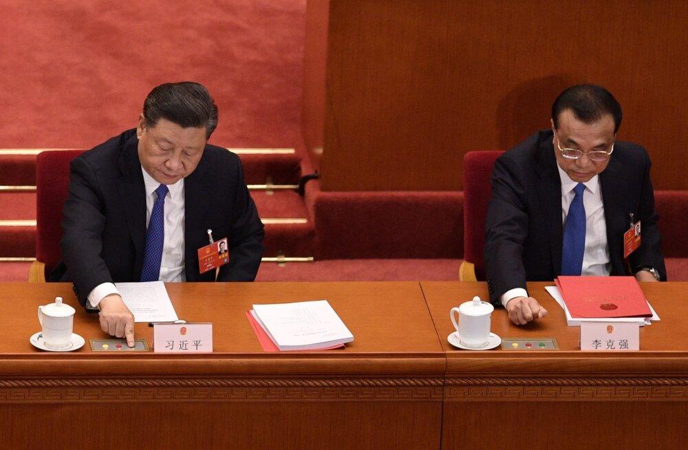 Hiina parlament kiitis suurt vastuseisu tekitanud Hongkongi julgeolekuseaduse heaks häältega 2878-1