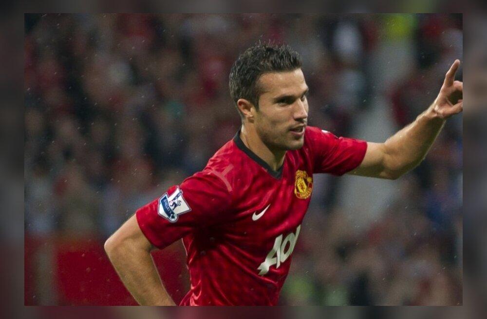 Manchester Unitedi Robin van Persie