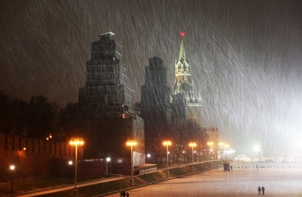 Pimedus võtab üle: Moskvas paistis päike detsembris vaid kuus minutit