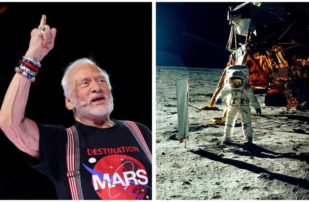 Raha ajas pere lõhki? Legendaarne astronaut Buzz Aldrin kaebas oma lapsed kohtusse
