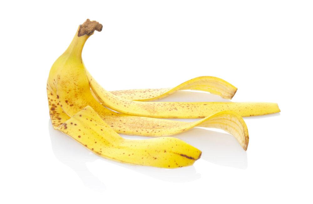 5 geniaalset võimalust kasutada banaanikoori