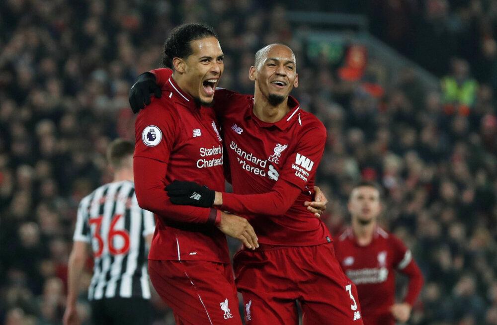 Premier League'i suur mängupäev: Liverpool ja Tottenham võimutsesid, Arsenal viigistas ja Manchester City kaotas taas