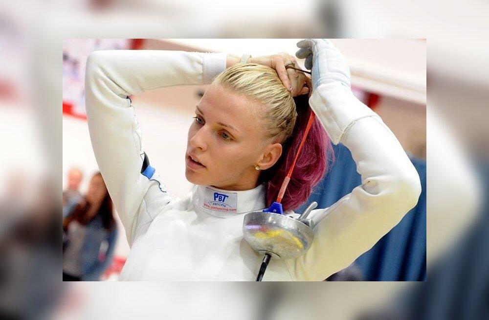 Katrina Lehis läheb Hiinasse järgmist medalit jahtima.