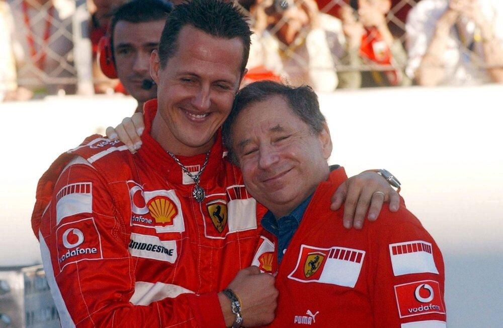 FIA president jäi Schumacheri seisundi osas taas napisõnaliseks: saame ainult loota, et asjad lähevad paremaks