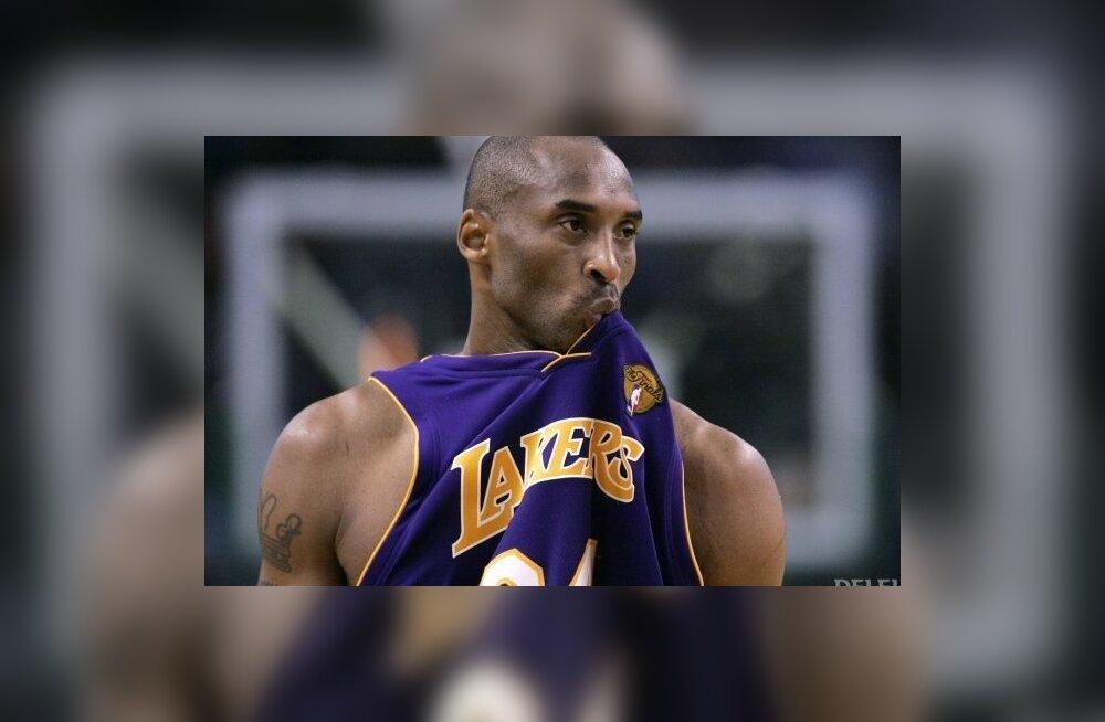 Bologna Virtus tegi Kobe Bryantile viimase pakkumise