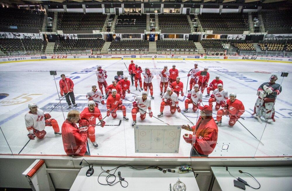 Moskva Spartak treening