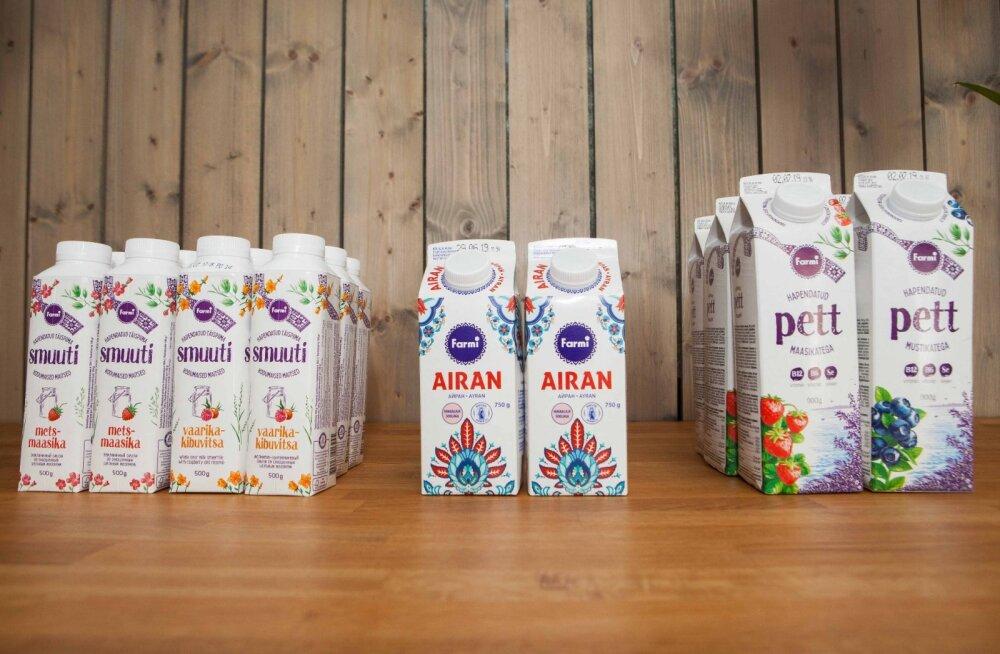 Farmi: жители Эстонии не боятся молочного жира