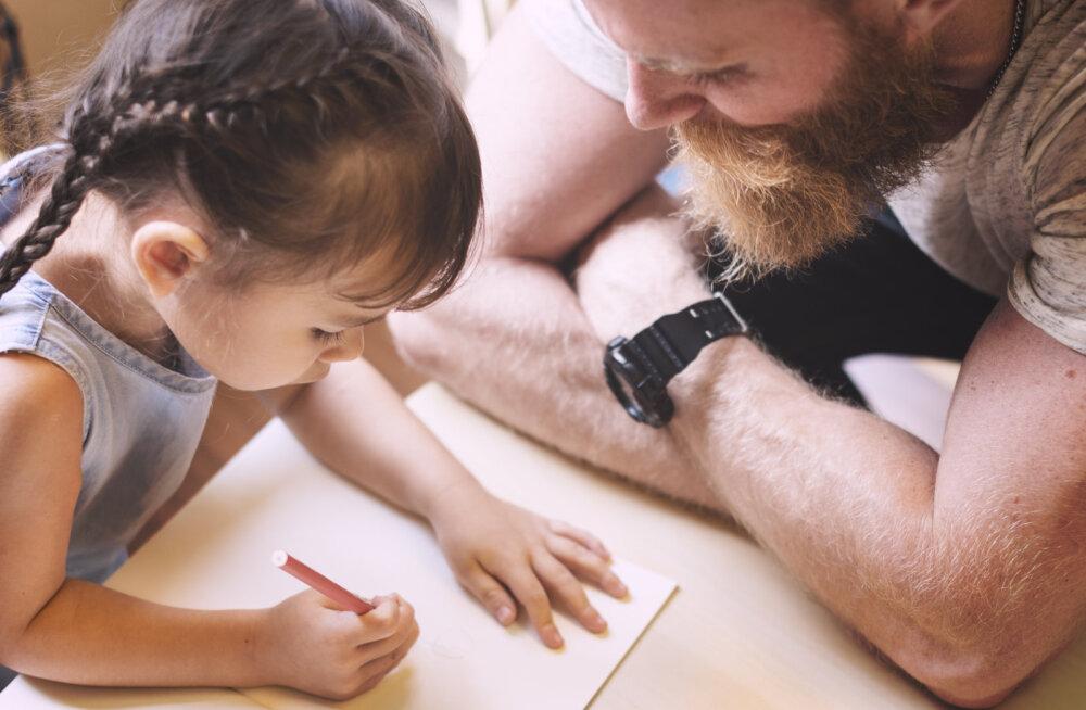 Miks mu laps alati mu jutule vahele segab ja miks ma tal seda teha luban