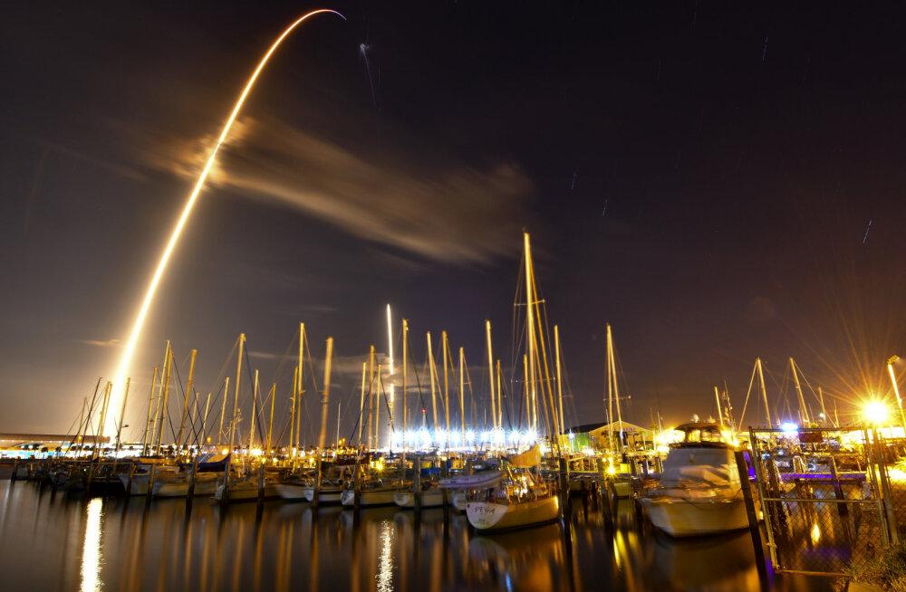 Falcon 9 start Floridas