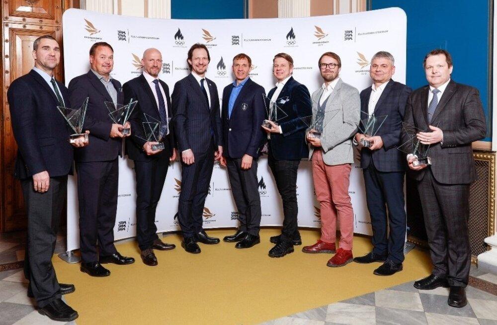 """""""Spordisõber 2019"""" laureaadid"""