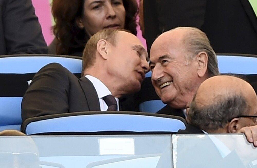 Blatteri tagasiastumine võib Venemaa ja Katari jaoks finaalturniiride korraldamisõiguse ohtu seada