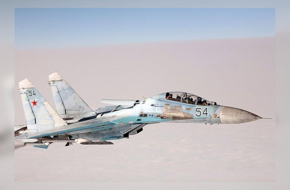 Piirivalve: Vene hävituslennukid veetsid minuti Soome õhuruumis