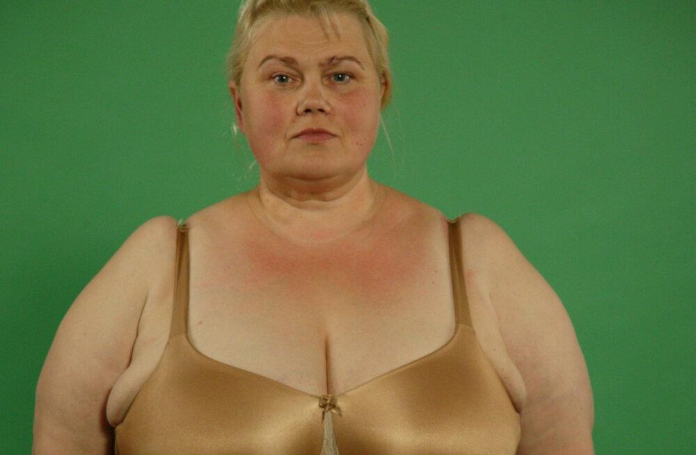 Kati Tootsi õde on nüüd saledam kui Kati ise! 144 kilogrammi kaalunud Merike teeb telesaates läbi 13 operatsiooni