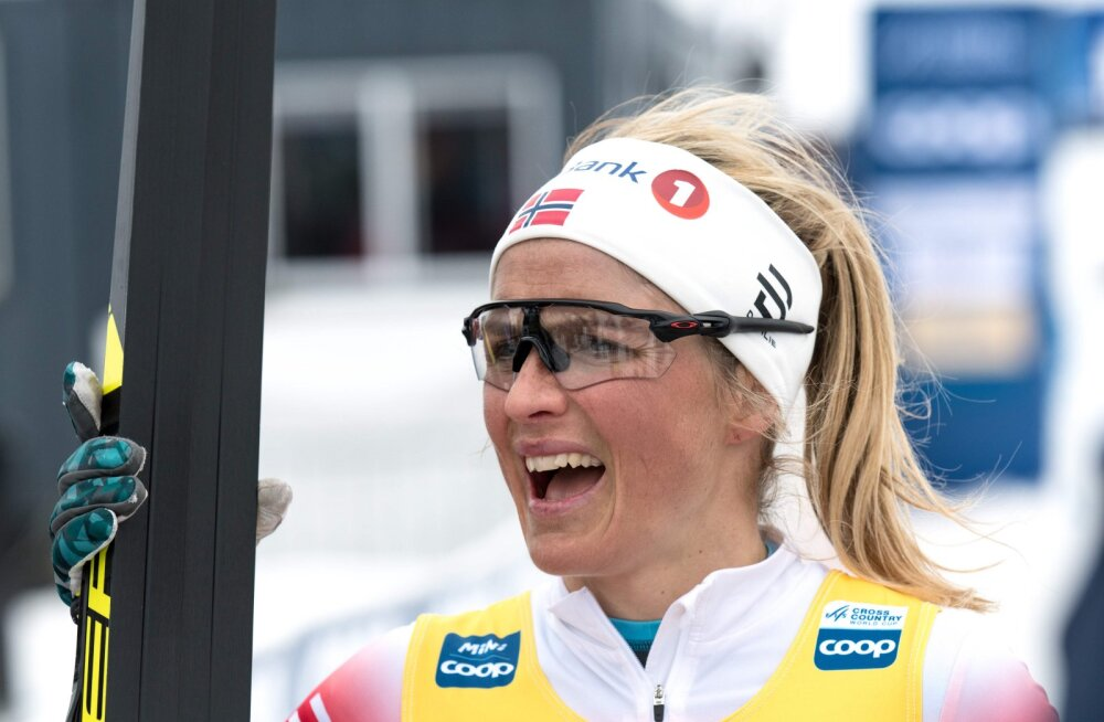 Johaug võitis 7,5-kilomeetrise rullisõidu koondisekaaslase ees võimsa edumaaga