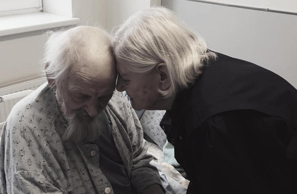 Südamlik armastuslugu! 91-aastane naine haiglavoodis olevale mehele: Ilmar, sa pead terveks saama, ma luban, ma ei lähe kuskile