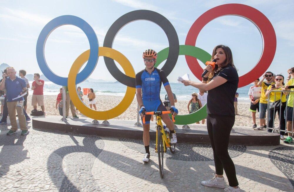 Olümpia maanteesõit, jalgratas