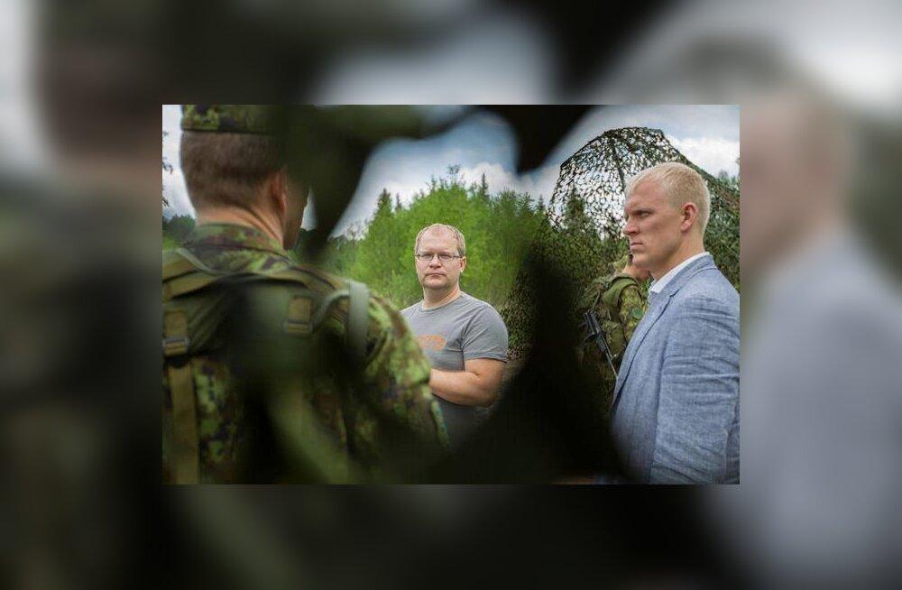 Välisminister Paet Kevadtormil: Eesti kaitsevägi on motiveeritud ja NATO seisab kindlalt kõigi oma liikmete julgeoleku eest