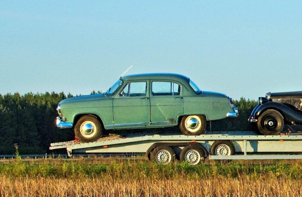 FOTOD | Viljandist varastati 59 aastat tagasi toodetud Volga, mille turuväärtus on ligi 50 000 eurot