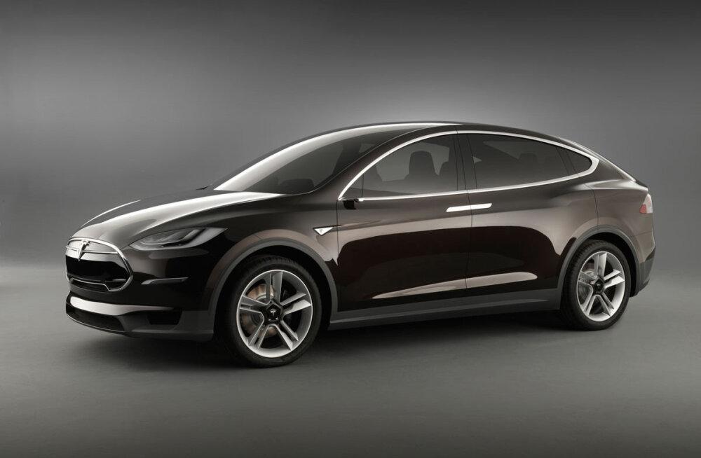 Tesla linnamaastur Model X