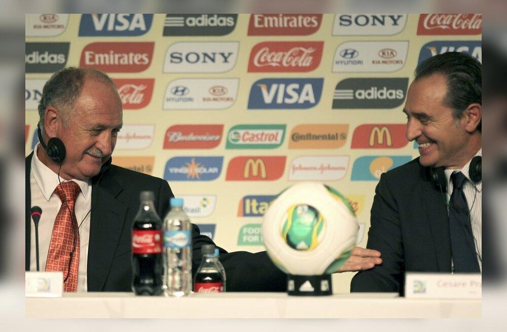 Felipe Scolari, Cesare Prandelli