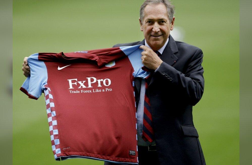 Gerard Houllier nimetati Aston Villa peatreeneriks