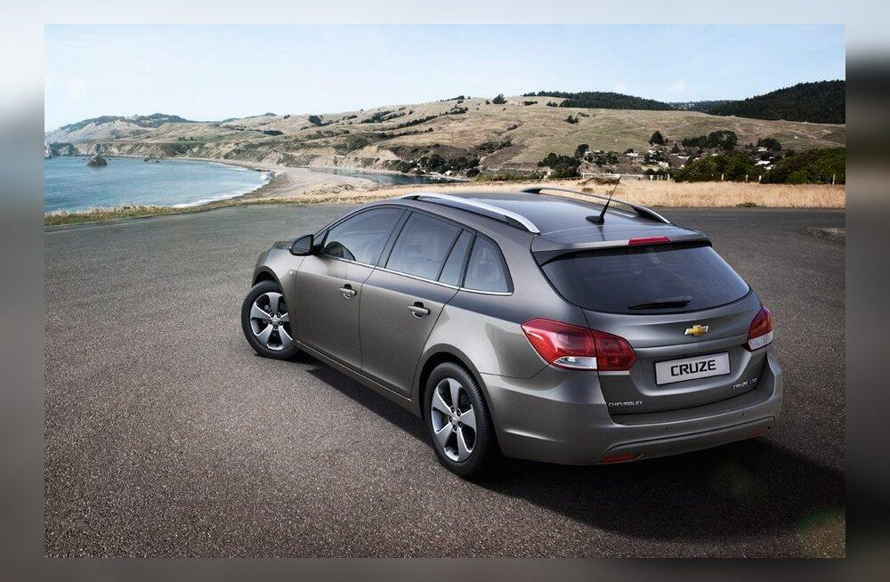 ВИДЕО: Chevrolet поделился подробностями об универсале Cruze