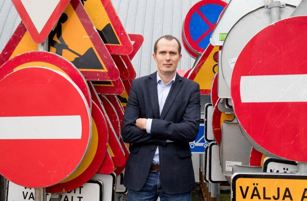 Andri Tõnsteini sõnul on tulevik tarkade fooride päralt, mis reageerivad liikluses toimuvale.