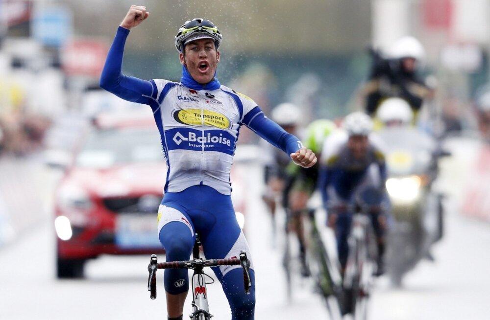 Dwars door Vlaandereni võitja Jelle Wallays