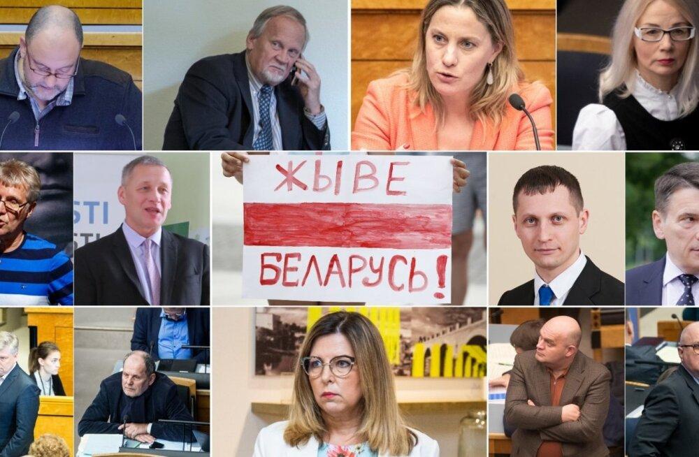 13 депутатов Рийгикогу не подписали заявление в поддержку демократии и гражданского общества в Беларуси