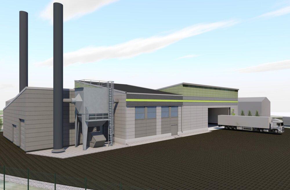В Локса построят современную котельную стоимостью 3 млн евро