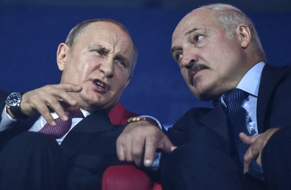 Vladimir Putin ja Alexander Lukashenko