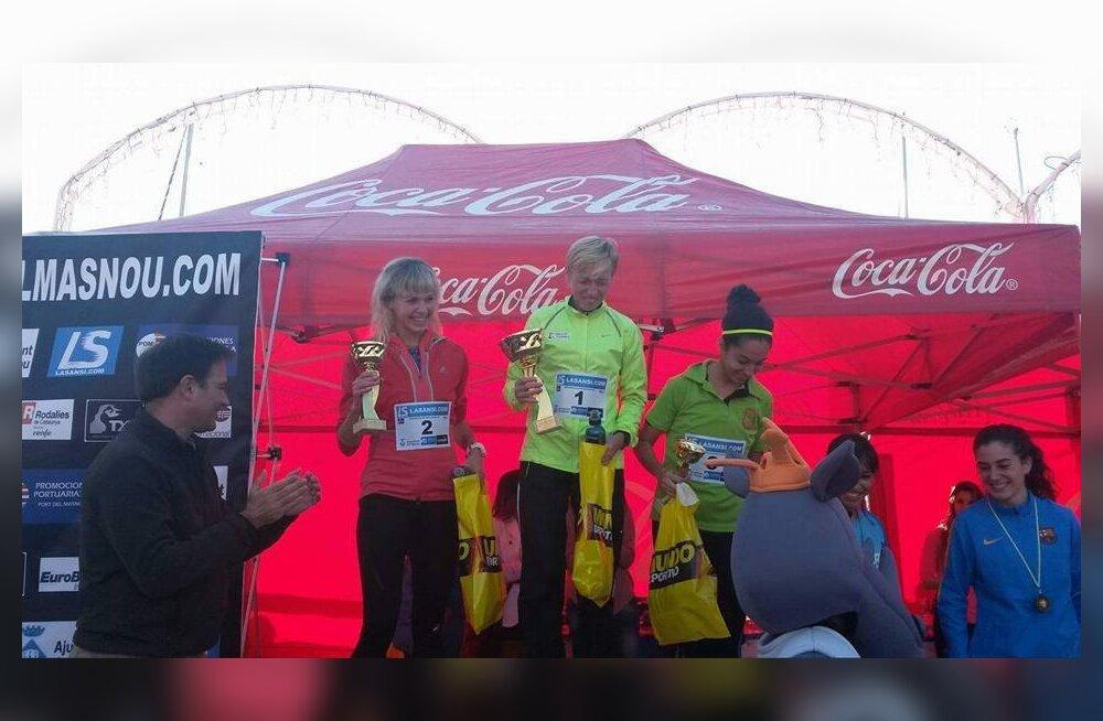 Jekaterina Patjuk võitis Hispaanias maanteejooksu