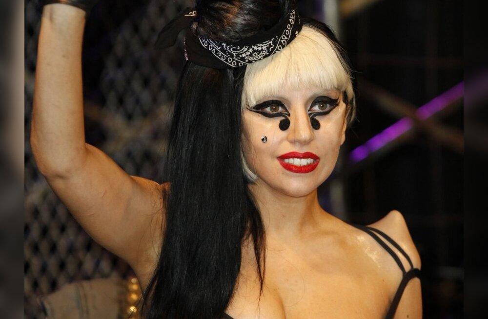 VIDEO: Lady Gaga on nüüd suitsetav näkineid
