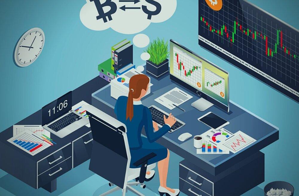 Krüptoturule sisenevad institutsionaalsed investorid