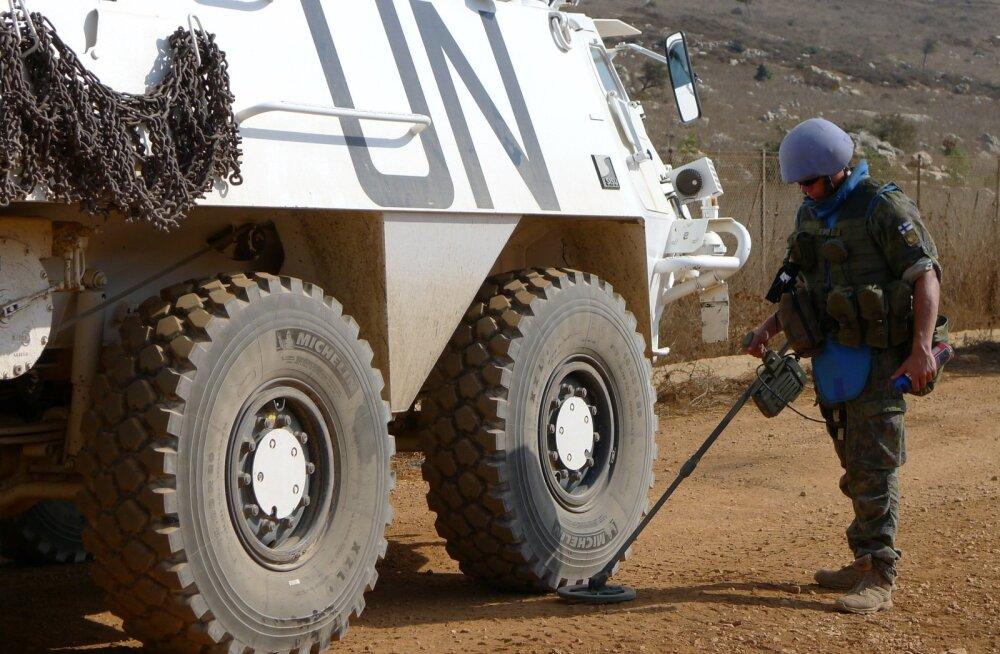 Kaitseväelased Liibanonis