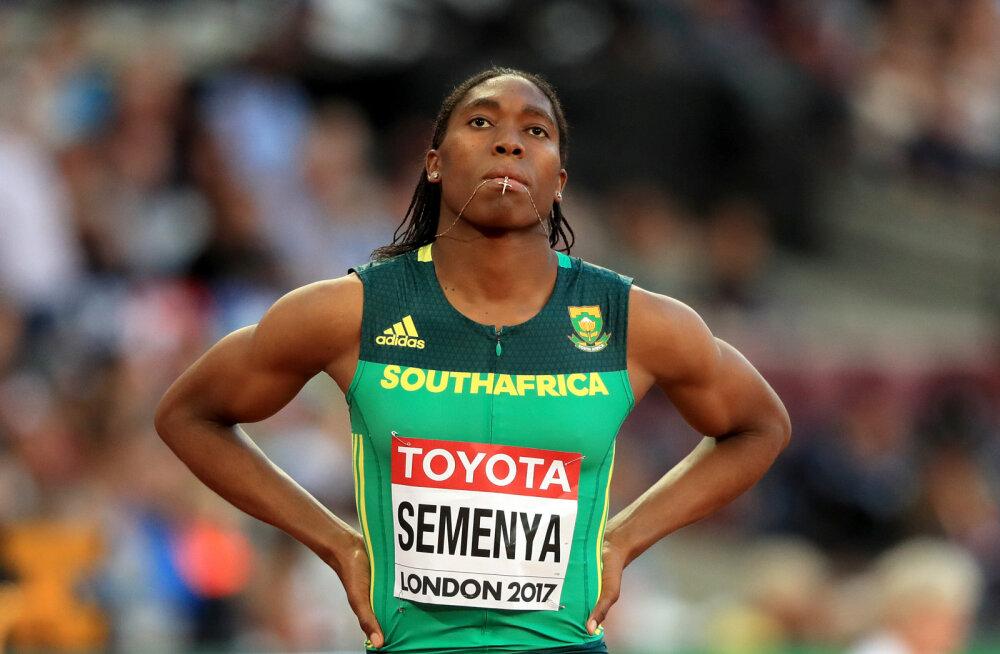 Selgus majas: Caster Semenya pole piisavalt naine, MM-il jääb võistlemata