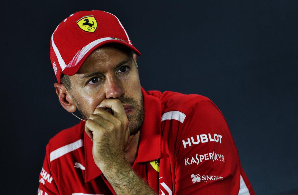 Sebastian Vettel: vajan pärast kurnavat aastat puhkust