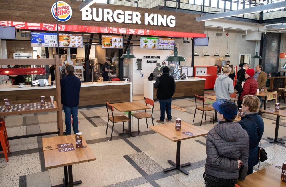 Balti jaama Burgerking on avatud