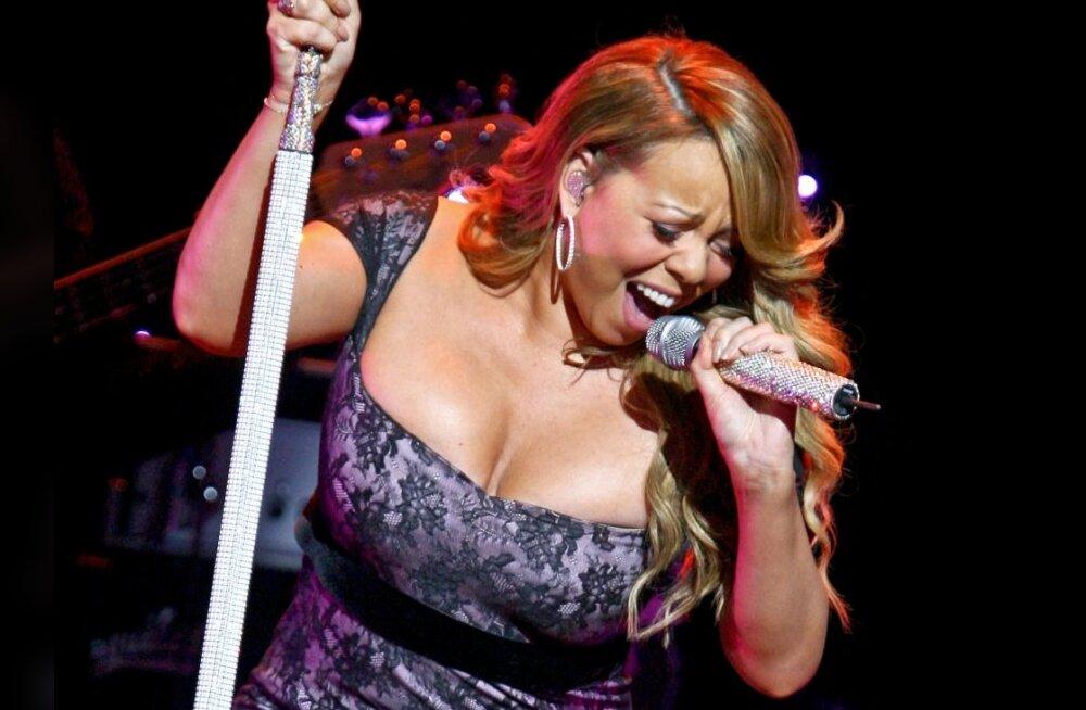 Mariah Carey liitus rasedalt ajakirjakaanel poseerinud naiste armeega