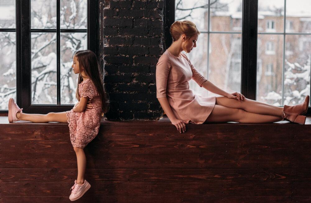 Ärevad lapsed ja nende murelikud vanemad