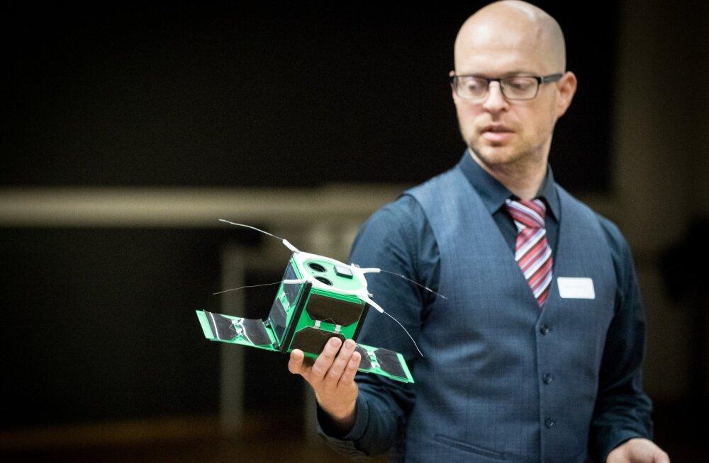 TalTech tutvustas Mektorys oma satelliiti