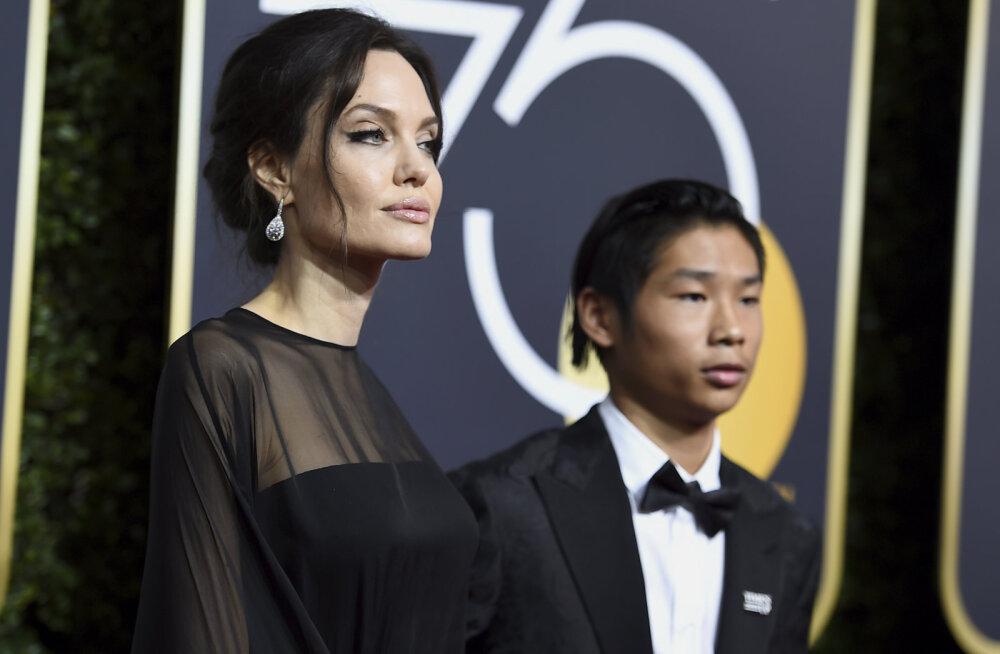 Kõigi plaanid võivad muuutuda! Angelina Jolie ja Brad Pitti vanim poeg oli sunnitud koolist varem koju naasma