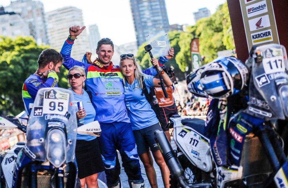 VIDEO: Dakari ralli võitja Toomas Triisa: olid hullumeelsed kaks nädalat