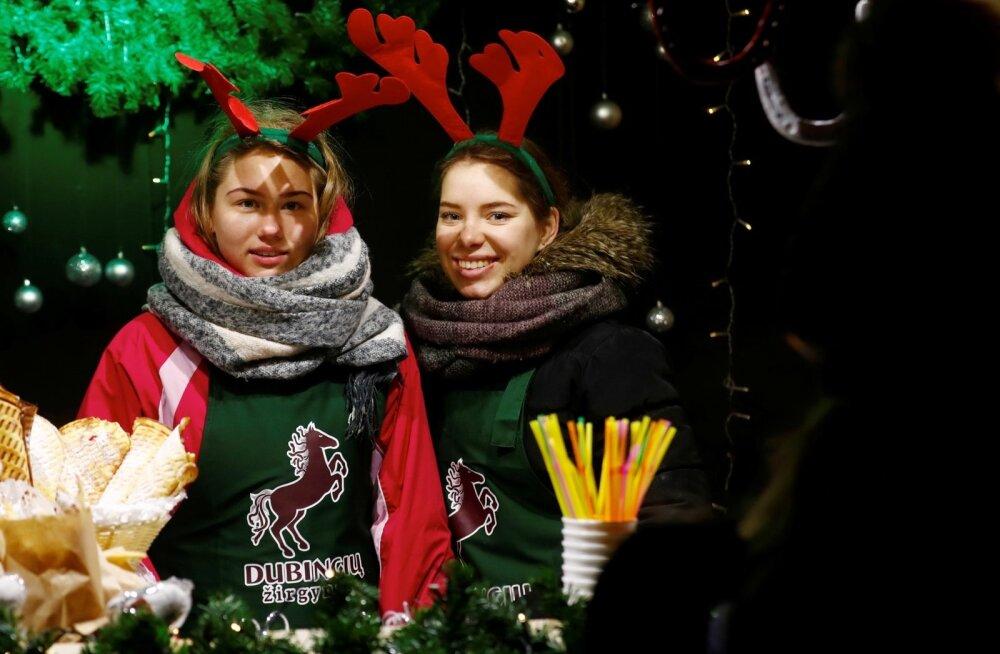 Vilniuse jõuluturg.