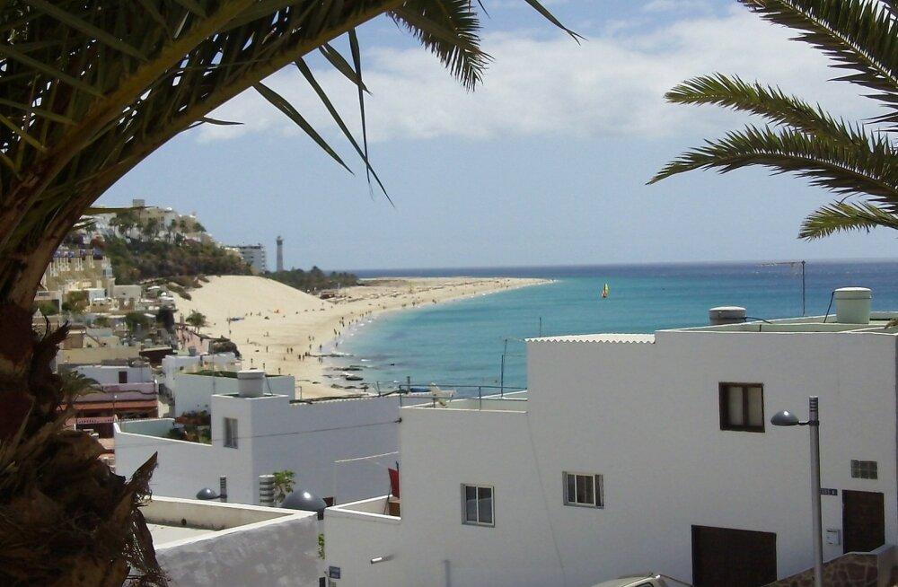 KASUTA VÕIMALUST | Veeda jõulud Kanaaridel: edasi-tagasi otselend Helsingist Fuerteventurale vaid 105 eurot!